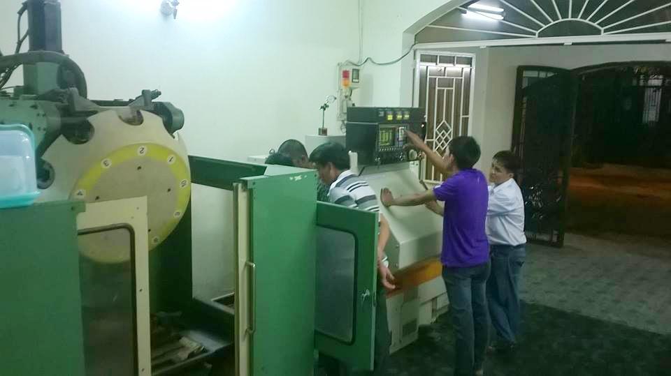 Dạy kèm thực hành Phay, Tiện CNC trực tiếp tại trung tâm