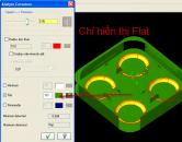 Phân tích kích thước bề mặt bằng lệnh Analyze Curvature trên MasterCam