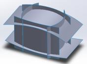 SolidWorks: Các lệnh thiết kế trong  Multibody Parts (phần 1)