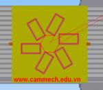 Lập trình Phay CNC hệ Fanuc với lệnh G68 (G69): Xoay gốc tọa độ