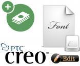 Creo Parametric - Khắc Phục Lỗi Font Chữ