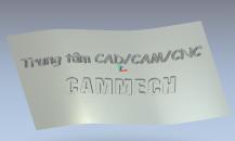 Feature Machining: Gia công chiếu đường chạy dao 2D lên bề mặt cong trên ArtCam Pro
