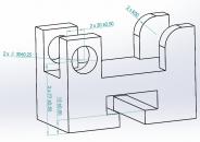 Solidworks - Gán kích thước tự động trên mô hình 3D