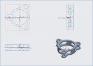 Cách tạo hướng nhìn hình chiếu trục đo trên phần mềm Creo