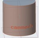 Tạo chữ 3D trên mặt cong trên phần mềm Creo