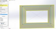 Tạo biên dạng chuẩn cho thép V trên modul weldment của phần mềm solidworks