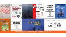 Vẽ Kỹ Thuật Cơ Khí - Chia Sẻ 10 Cuốn Sách Vẽ Kỹ Thuật Chọn Lọc